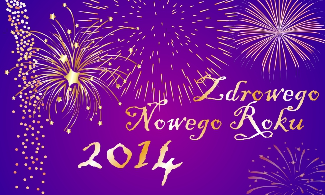 zdrowego nowego roku 2014