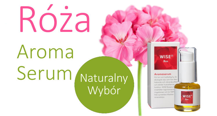 Naturalne Serum różane