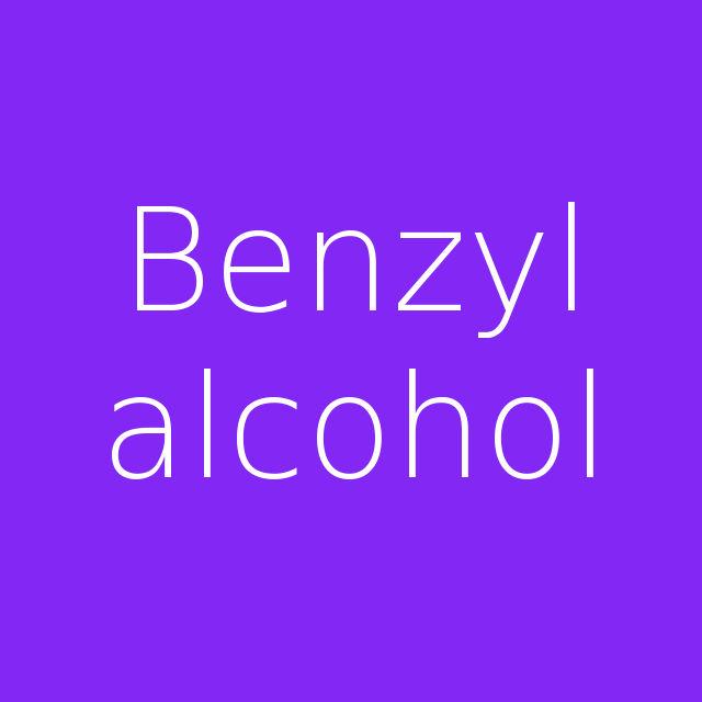 Benzyl alcohol alkohol benzylowy