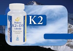 witamina K2 + D3 w oleju z oliwek Holistic