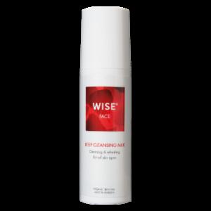 Naturalne mleczko oczyszczające do twarzy WISE