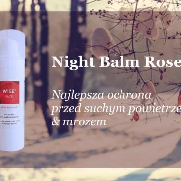 Ekologiczny balsam różany  jako ochrona przed zimowym mrozem i nie tylko :)
