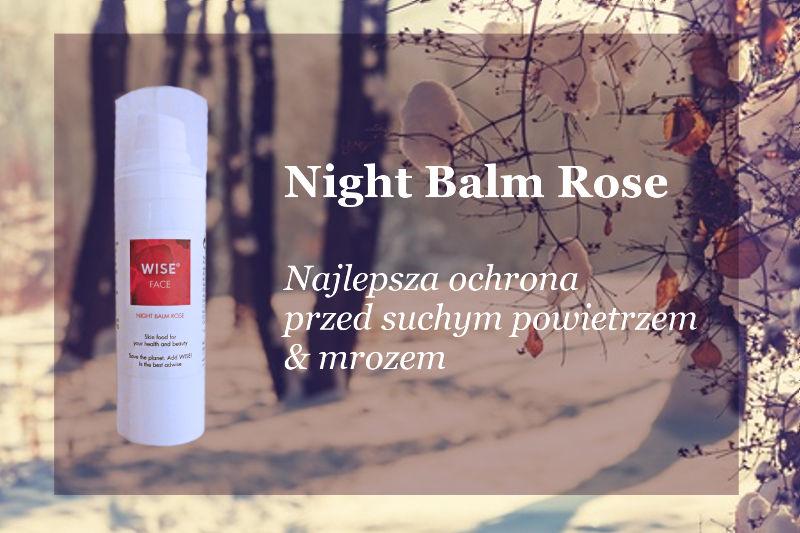 naturalne kosmetyki ekologiczne - night balm rose