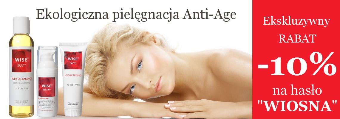 Ekologiczna Pielęgnacja skóry szwedzkimi kosmetykami WISE