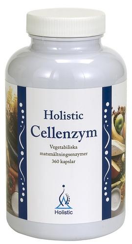 Holistic Cellenzym suplement diety wspomagający trawienie