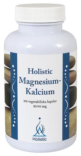 Holistic Magnez i Wapń suplement diety bogaty w minerały biodostępne