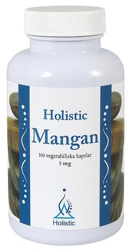Holistic Mangan suplement diety niezbędny do prawidłowego funkcjonowania układu nerwowego
