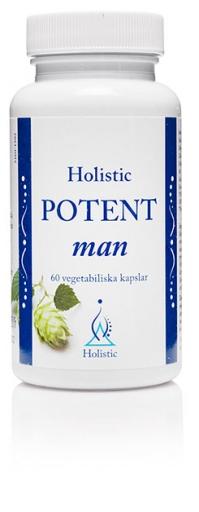 Holistic Potent Man suplement diety zwiększający poziom testosterony