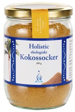 Cukier Kokosowy Holistic jako alternatywa cukru białego