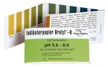 Paski pH Holistic do badania poziomu kwasowości w organizmie