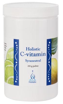 Naturalna Lewoskrętna Witamina C Holistic suplement diety o neutralnym pH
