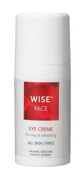 Ekologiczny krem pod opuchnięte i zmęczone oczy WISE