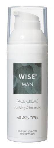 Ekologiczny krem do wrażliwej skóry dla Mężczyzn WISE
