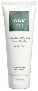 Ekologiczne mleczko do twarzy dla Mężczyzn WISE