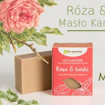 Róża i masło karite – naturalne eko mydło włoskie LaSaponaria w Sklepie w Warszawie