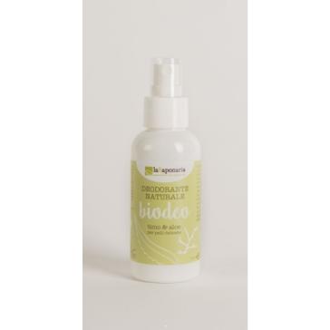 Naturalny Bio Dezodorant bez aluminium i alkoholu do wszystkich typów skóry Tymianek, Szałwia, Aloes La Saponaria 100ml