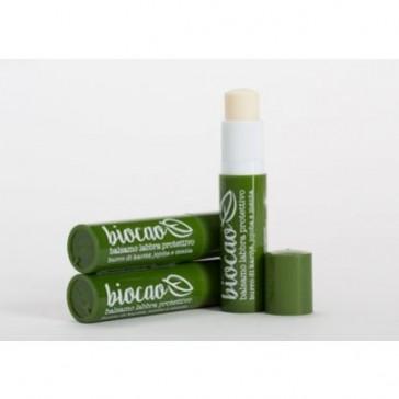 Naturalna BIO Pomadka ochronno-odżywcza do ust z miętą, masłem shea La Saponaria