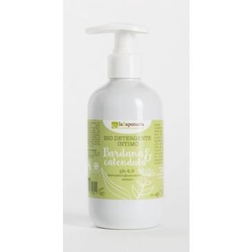 Naturalny BIO Płyn do higieny intymnej Nagietek, Łopian, Aloes i kwas mlekowy La Saponaria