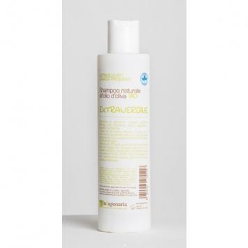 Naturalny BIO Szampon do włosów z aloesem i oliwką do każdego rodzaju włosów Extravergine La Saponaria