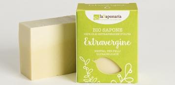 Naturalne bezzapachowe Mydło roślinne z oliwą z oliwek do skór niezwykle delikatnych i wrażliwych o właściwościach kojących La Saponaria