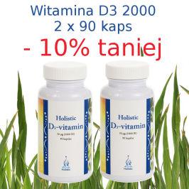 Promocja – 2 opakowania witaminy D3 2000 – 10% taniej