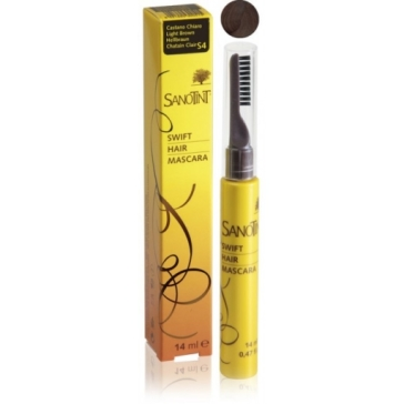 Mascara na odrosty Sanotint Light Brown S4