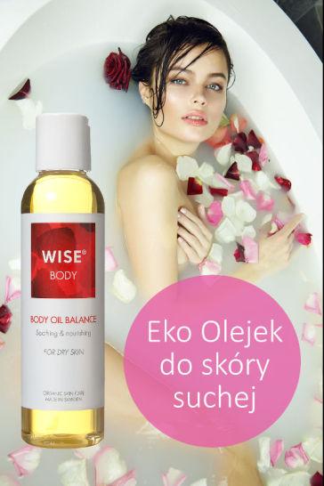 Ekologiczny olejek do kąpieli i ciałe WISE