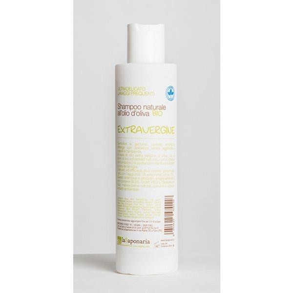 szampon naturalny z aloesem i oliwką Extravergine La Saponaria